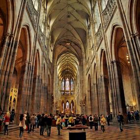 katedrála sv. Víta, Praha by Irena Brozova - Buildings & Architecture Other Interior ( prague )