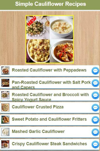 Simple Cauliflower Recipes 1.0 screenshots 1
