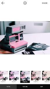 Retro Camera-Polo Image,Analog film,Paris,Pink 4