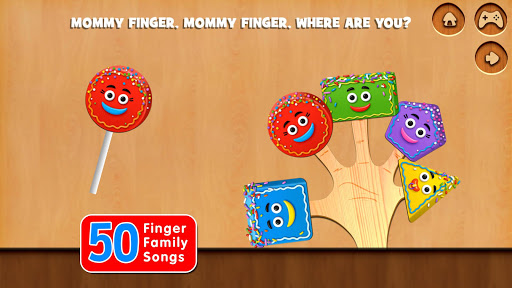 Finger Family Rhymes And Game  screenshots 6