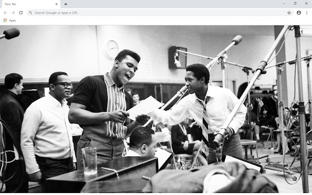 Sam Cooke New Tab & Wallpapers Collection
