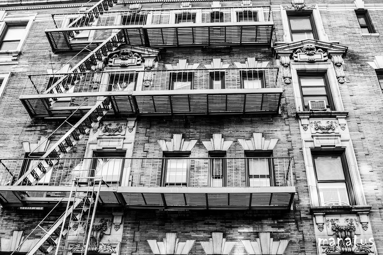 escaleras anti incendios en nueva york