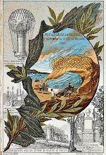 Photo: Le 15 juin 1785, Jean-François Pilâtre de Rozier, qui tentait également de traverser la Manche mais dans le sens inverse, c'est-à-dire contre les vents dominants, se tue avec Pierre Romain à bord d'un ballon mixte illustration de leur péril