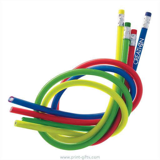 Novelty Bendy Pencils for Branding