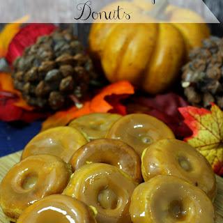 Mini Baked Pumpkin Donuts