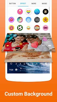 Facemoji Emoji Keyboard-Cute Emoji, Theme, Sticker - screenshot