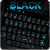 Simple Neon Black Keyboard