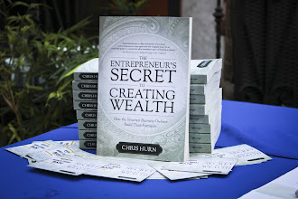 Photo: The Entrepreneur's Secret to Creating Wealth was available for purchase at our Book Launch Party and can also be ordered on Amazon! http://bit.ly/entrepreneurs-secret