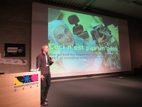 Photo: Everything you always wanted to know about SpaceTethers,  as told by Michiel Kruiff