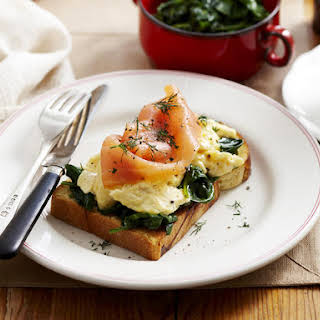 Salmon Spinach Egg Recipes.