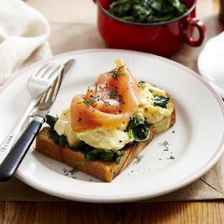 Salmon Spinach Egg Recipes.
