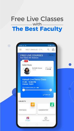 Aakash Digital Learning App screenshot 1