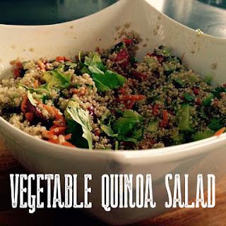 Vegetable Quinoa Salad.