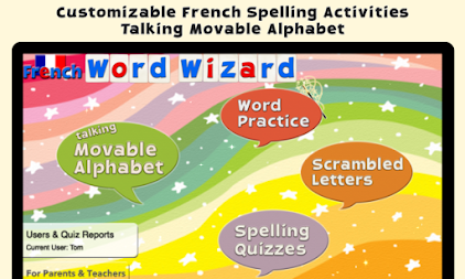 French Word Wizard - Learn to read and spell APK screenshot thumbnail 1