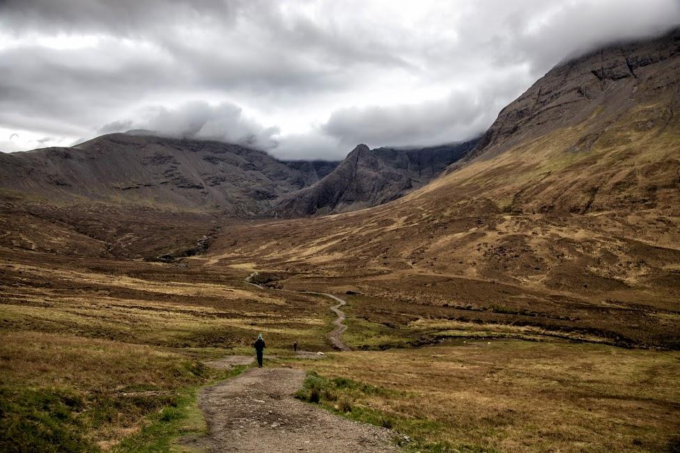 Szkocja, Fairy Pools, atrakcje Wyspy Skye