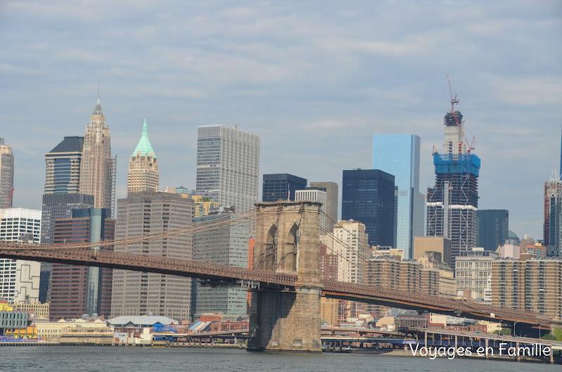East river - Brooklyn bridge