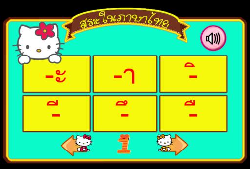 Thai Vowels