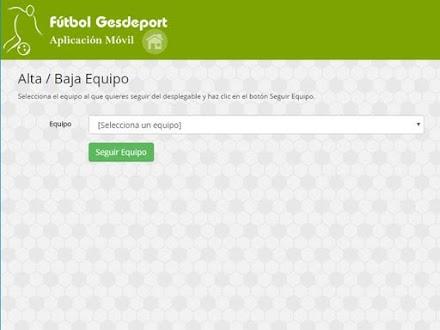 App Gesdeport Gratis