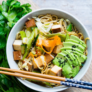 Tofu vegetable Chảo Mì.