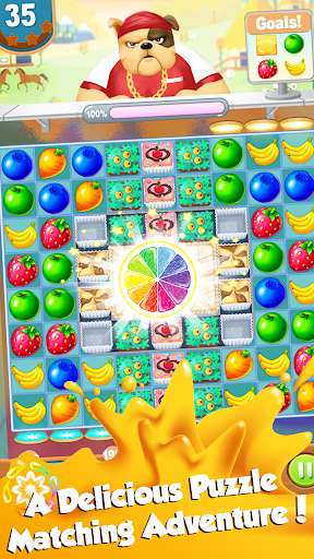 Code Triche Fruit Juice Garden Rush APK MOD screenshots 2