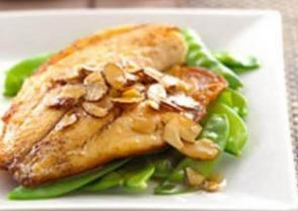 White Fish With Almond Butter