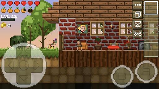 LostMiner: Block Building & Craft Game v1.4.2a screenshots 7