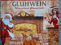Here is a Gluhwein sign from the Christkindl Market (Christmas Market) in Germany. photo credit:...