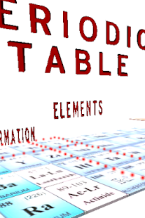 Periodic table 3d android apps on google play periodic table 3d screenshot thumbnail urtaz Image collections