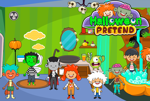 My Pretend Halloween - Trick or Treat Friends FREE 1.1 screenshots 4