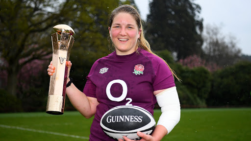 Poppy Cleall crowned 2021 Women's Six Nations Player of the Championship, supported by Guinness