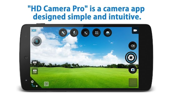 HD Camera Pro- screenshot thumbnail