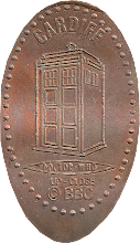Photo: Doctor Who penny from Cardiff