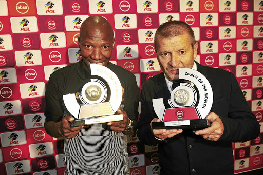 Polokwane City's Jabu Maluleke and coach Josef Vukusic took top PSL accolades for the month of October.