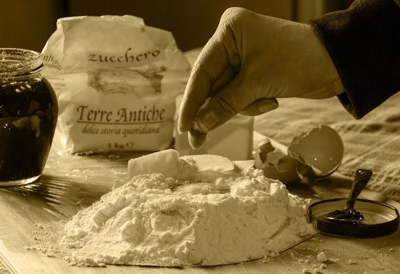 Ingredienti per una buona crostata di christiandeledda