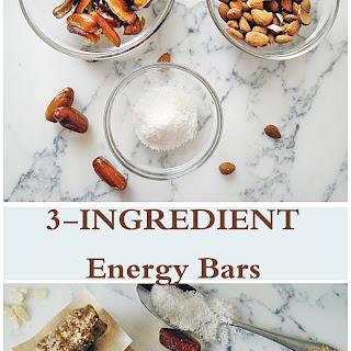 3-Ingredient Energy Bars