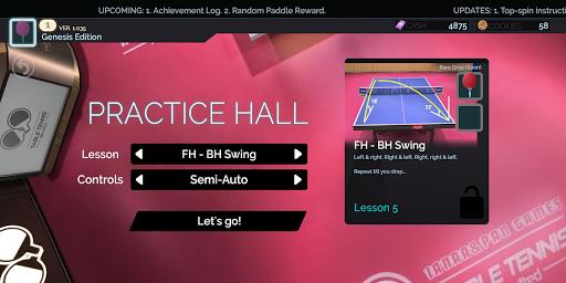 Code Triche Table Tennis ReCrafted! APK MOD (Astuce) screenshots 3