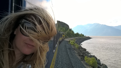 Windswept: spectacular scenery along the coast-hugging Alaskan Railroad