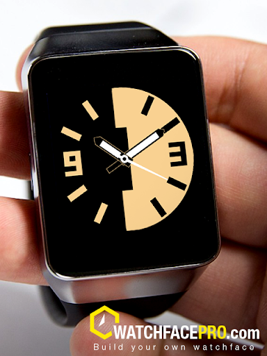 Watch Face Milk Chocolate