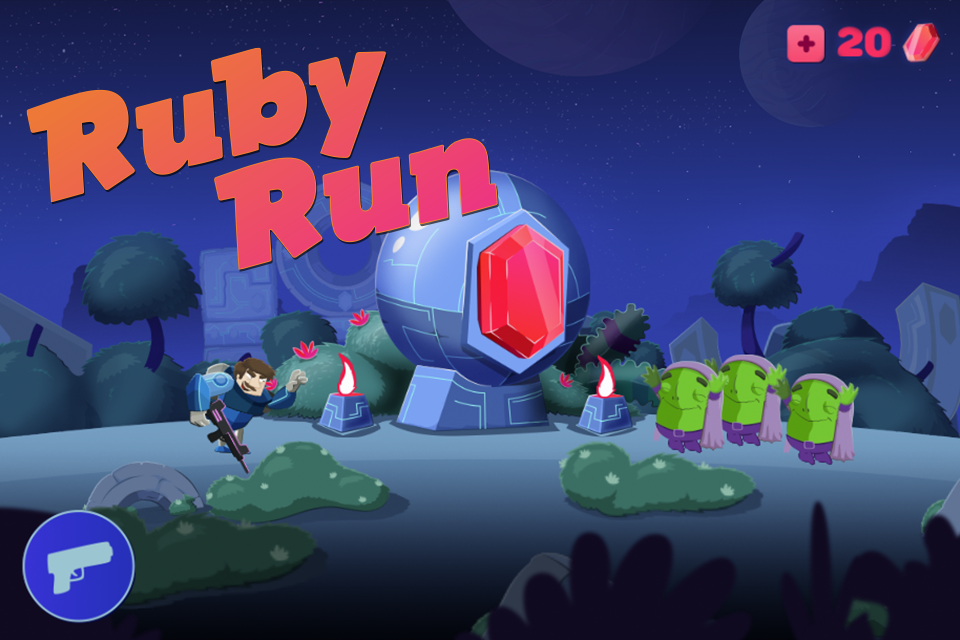 Ruby Run: Eye God's Revenge- screenshot