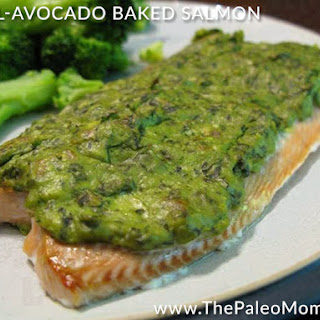Baked Salmon With Avocado Recipes.