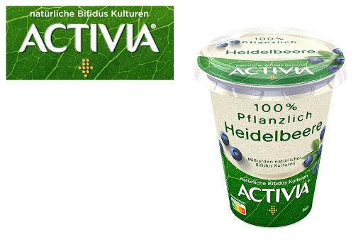 Bild für Cashback-Angebot: ACTIVIA 100% Pflanzlich                                                Heidelbeere - Activia