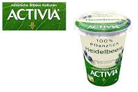 Angebot für ACTIVIA 100% Pflanzlich                                                Heidelbeere im Supermarkt - Activia