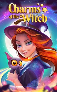 Charms of the Witch - Magic Match 3 Games Screenshot
