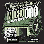 Barkerville Brewing Co. Mucho Oro Lager