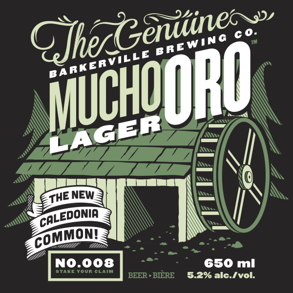 Logo of Barkerville Brewing Co. Mucho Oro Lager