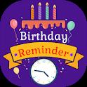 Birthday Reminder, Calender, Alarm & Age Calc icon
