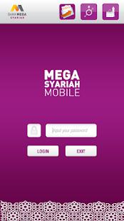 Mega Syariah Mobile - náhled