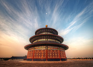 Photo: The Temple of Heaven - China  One too-early morning brought me to this very important place for the Chinese called The Temple of Heaven. It's the most important Taoist structure in all of China and millions flock to it every year, especially during the National Holiday. It was built in the early 1400's during the reign of the Yongle Emperor.   from Trey Ratcliff at www.stuckincustoms.com