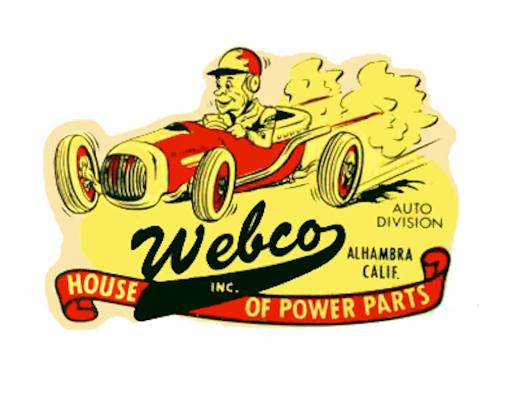 Publicité pour la firme WEBCO.