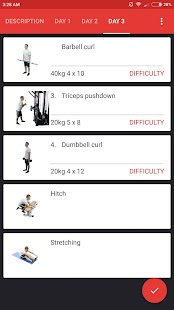 SmartFit - Gym Personal Trainer, Strength training- screenshot thumbnail
